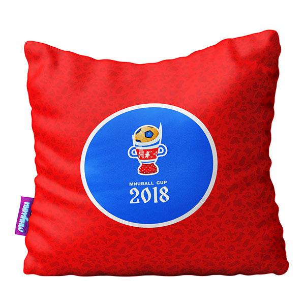 Подушка игрушка Оле Оле красная