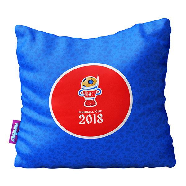 Подушка игрушка Оле Оле синяя