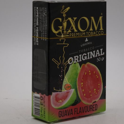 Табак для кальяна GIXOM GUAVA 50g