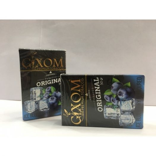 Табак для кальяна GIXOM ICE BLUBERRY 50g
