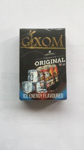 Табак для кальяна GIXOM ICE ENERGY 50g