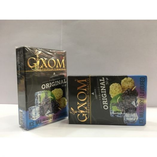 Табак для кальяна GIXOM ICE MULBERRY 50g