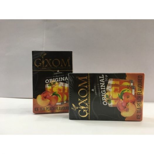 Табак для кальяна GIXOM ICE TEA PEACH 50g
