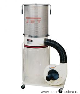 Пылесос/стружкоотсос с фильтром JET DC-1100CK объем бака 150 л 1620/1150м3/час 400В 708626CKT