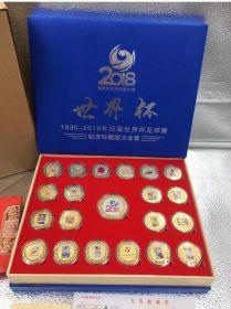 Коллекционный набор монет стран проведения Чемпионатов мира по футболу