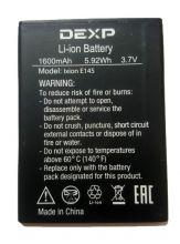 Аккумулятор Dexp Ixion E145