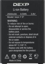 Аккумулятор для телефона DEXP Ixion Y5 Original
