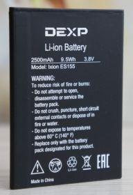 Аккумулятор для DEXP Ixion ES155 Vector