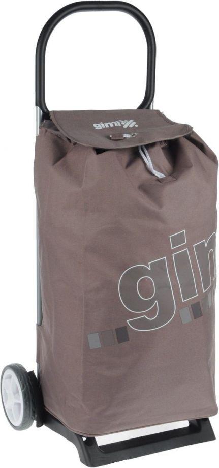 Сумка-тележка GIMI ITALO светло-коричневая