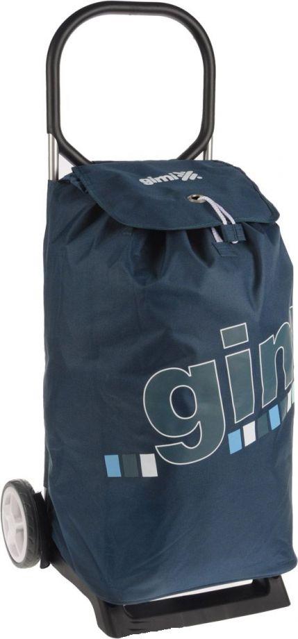 Сумка-тележка GIMI ITALO синяя