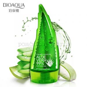 Увлажняющий гель для лица и тела с натуральным соком Aloe Vera Bioaqua