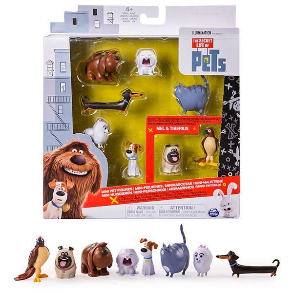 Набор мини фигурок Secret Life of Pets