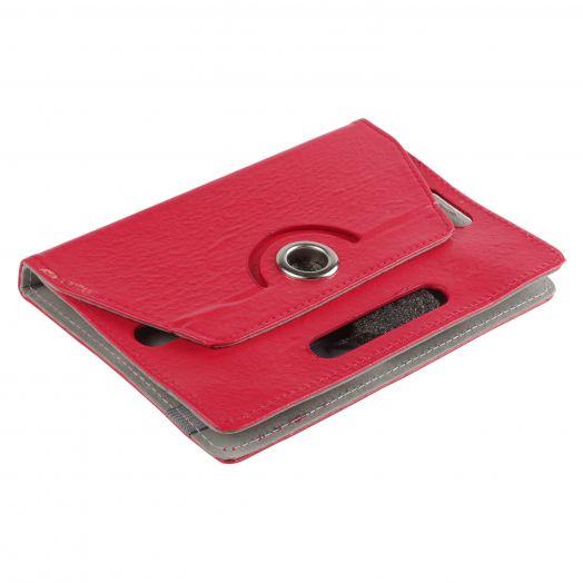 Чехол универсальный книжка 7 дюйма (красный)