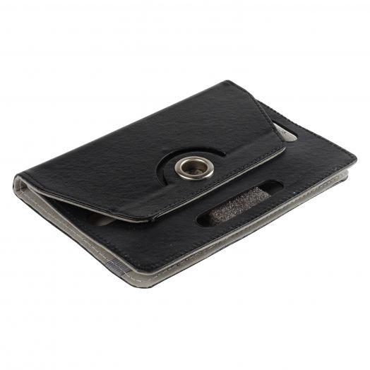 Чехол универсальный книжка 7 дюйма (черный)