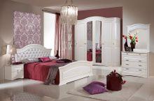 Спальня ВЕНЕРА 6-дверный шкаф, эмаль