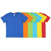 Детские футболки 6-9 лет из хлопка в ассортименте