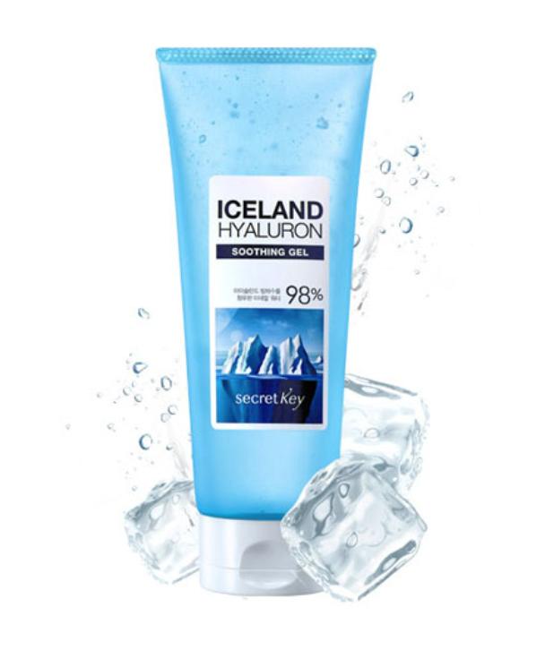 ЛИКВИДАЦИЯ! СК Hyaluron Гель для тела увлажняющий с гиалуроновой кислотой Iceland Hyaluron Soothing Gel 200мл