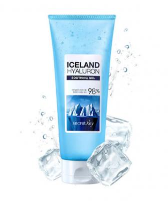 СК Hyaluron Гель для тела увлажняющий с гиалуроновой кислотой Iceland Hyaluron Soothing Gel 200мл