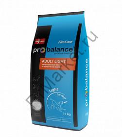 """""""ProBalance"""" Adult Light корм сухой для взрослых собак всех пород 15кг"""