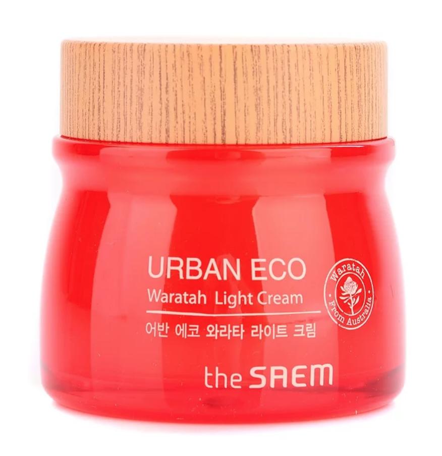 THE SAEM Waratah Крем-гель для лица легкий с экстрактом телопеи Urban Eco Waratah Light Cream 60мл