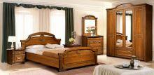 Спальня КАРОЛИНА 4-дверный.шкаф