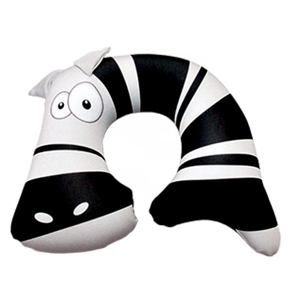 Подушка под шею Зёбр01 черный