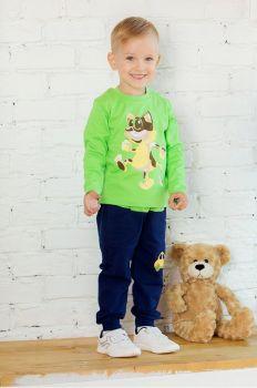 Лонгслив Sladikmladik на мальчика 2-5 лет  SM1033