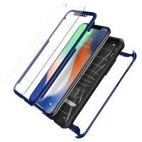 Чехол SGP Spigen Reventon для iPhone X голубой металлик
