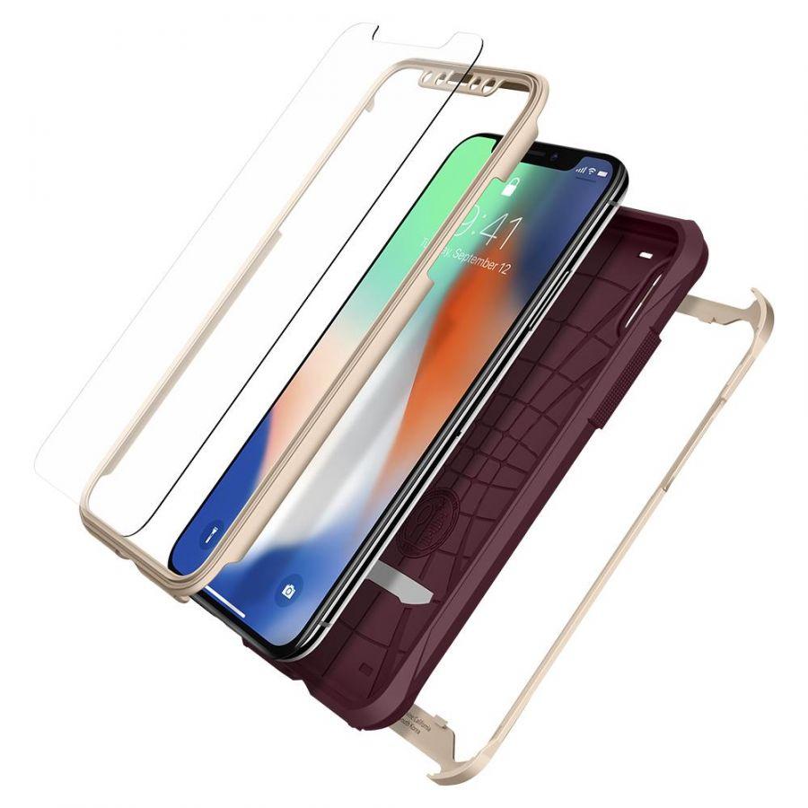 Чехол SGP Spigen Reventon для iPhone X золотой металлик