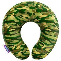 Подушка под шею Камуфляж стандарт, зеленая