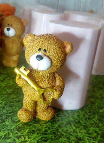 "Молд ""3Д МЕДВЕДЬ"" с ключом"