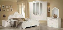 Спальня ЩАРА 5-дверный шкаф, эмаль