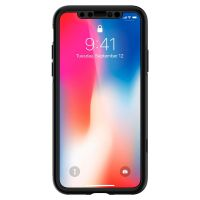 Чехол Spigen Thin Fit 360 для iPhone X черный