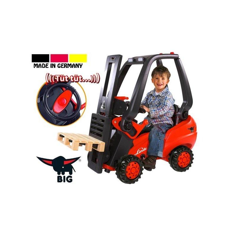 Автопогрузчик педальный вилочный Linde Forklift Big 56580