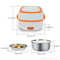 Контейнер для еды с подогревом Electric Lunch Box