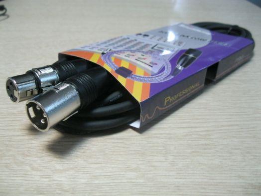 SOUNDKING BB110-5M Кабель микрофонный XLR <-> XLR, 10 м