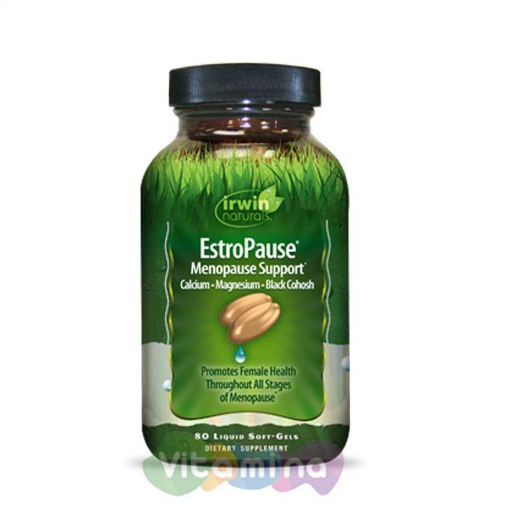 Irwin Naturals Поддержка в период менопаузы Estro Pausen, 80 капс.