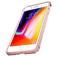 Чехол Spigen Crystal Shell для iPhone 8 Plus кристально-розовый