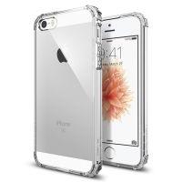 Чехол SGP Spigen Crystal Shell для iPhone 5/5S/SE кристально прозрачный