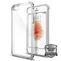 Чехол Spigen Crystal Shell для iPhone 5/5S/SE кристально-прозрачный