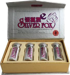 Silver Fox (Серебряная лиса) 4 баночки 10 мл (возбудитель)
