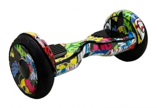 Гироскутер Smart Balance Wheel Premium 10.5 Желтый Граффити
