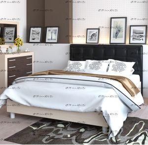 Кровать Токио с мягким изголовьем