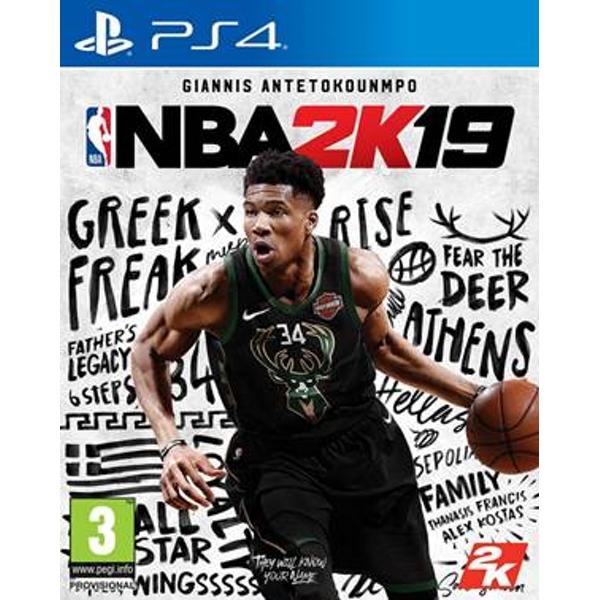 Игра NBA 2K19 (PS4)