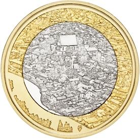 Долина реки Порвунйоки и старый Порвоо 5 евро Финляндия 2018