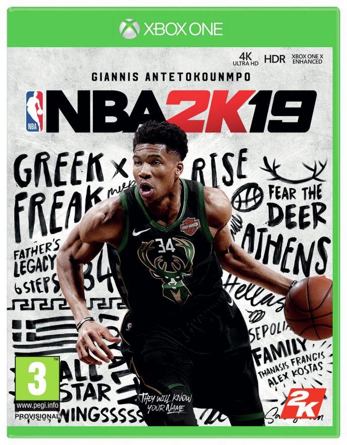 Игра NBA 2K19 (Xbox One)