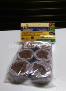 Кокосовые таблетки Cocoland Universal 42 мм (6 шт.)