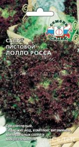 Салат листовой Лолло Росса