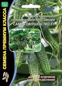 Огурец-корнишон суперпучкового типа завязей Само Совершенство® F1 (Уральский Дачник)