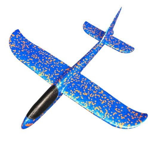 Метательный планер, 36 см, цвет синий